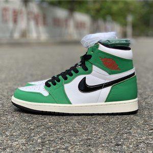 Air Jordan 1 Retro High Lucky Green
